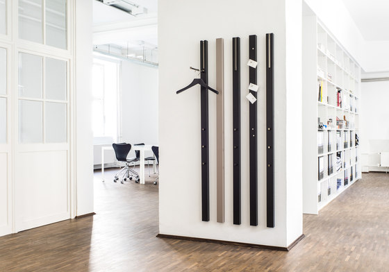 LINE Wall coat storage unit by Schönbuch