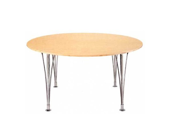 Table with expansionlegs by Bruno Mathsson International