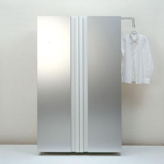 Haiku wardrobe by Lehni