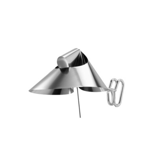 Spring Clip Floor Light by Gioia