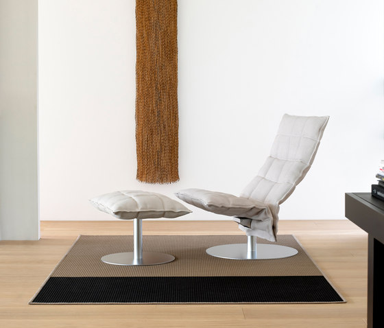 k Chair | wide | with Tubular Frame de Woodnotes