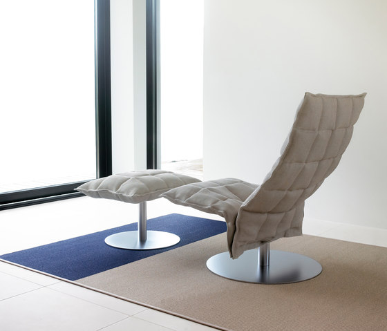 k Chair | wide | with Tubular Frame von Woodnotes