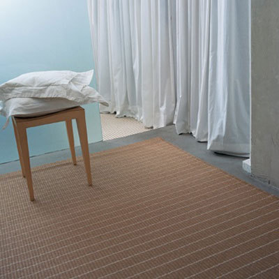 Line 124159 paper yarn carpet by Woodnotes