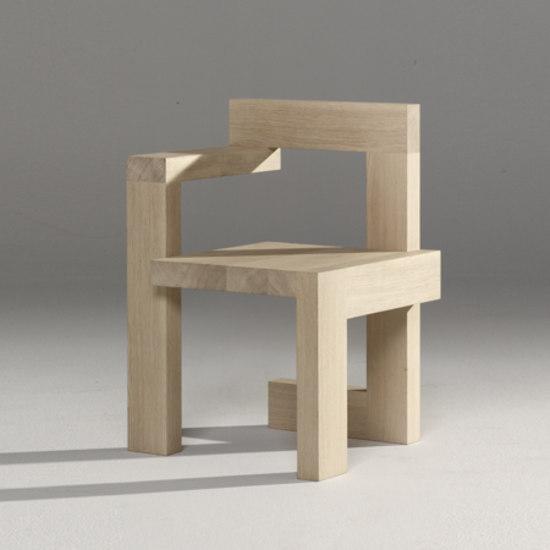 Steltman Chair Di Rietveld By Rietveld Prodotto