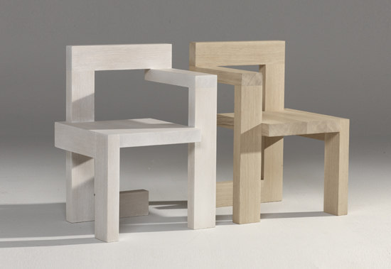 Steltman Chair by Rietveld by Rietveld