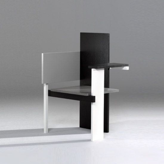 berlin chair chaises de rietveld by rietveld architonic. Black Bedroom Furniture Sets. Home Design Ideas