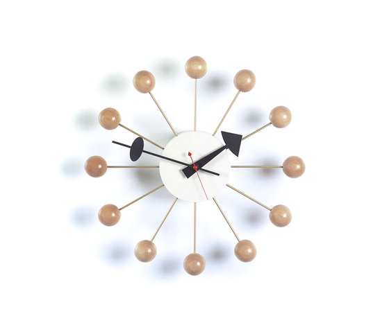 Spindle Clock de Vitra