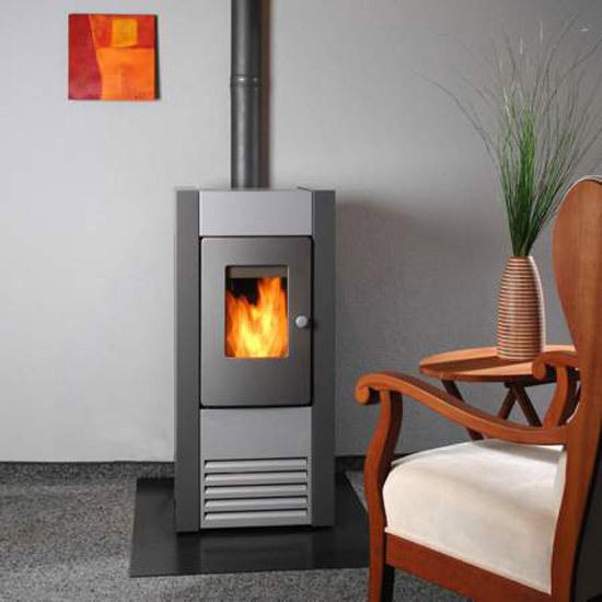 36 poele cheminee a bois en acier otis versailles for Deco de mure poele a bois nimes