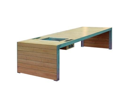 vario u 2 gartengrills von tischlerei sommer architonic. Black Bedroom Furniture Sets. Home Design Ideas