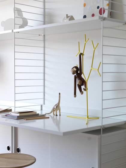 String System, Magazine holder by string furniture