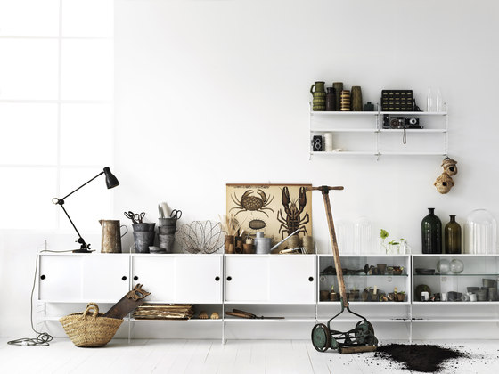 Office contract furniture storage shelving shelf systems - String System By String Furniture Product