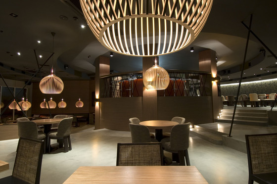Octo 4240 pendant lamp by Secto Design