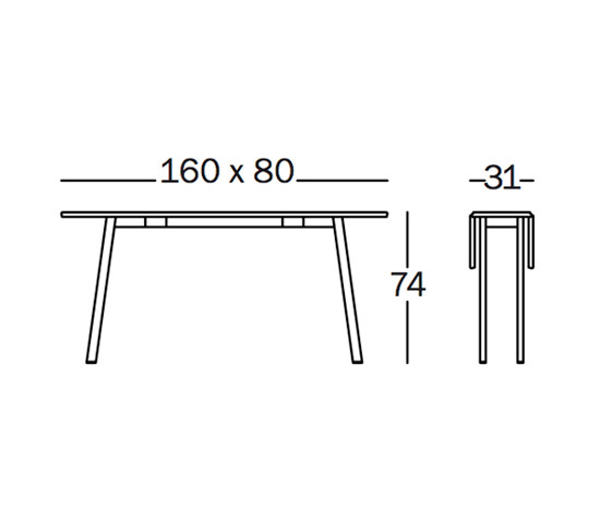 Déjà-Vu Table de Magis