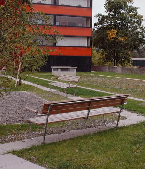 Landi Bench-Table-Bench by BURRI