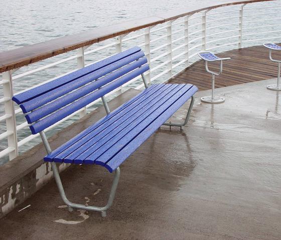 Landi Bench for Senior Citizens in NATWOOD by BURRI