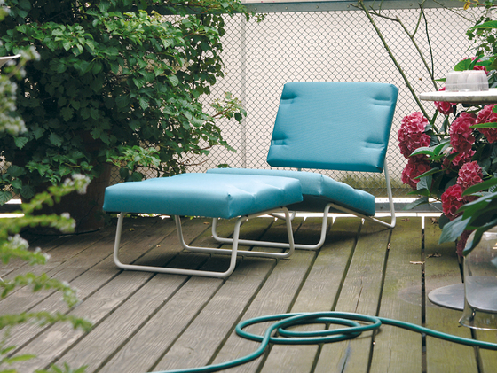 Lounge chair Hirche Outdoor de Lampert