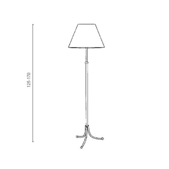 ... Floor Lamp G2326 Red By Svenskt Tenn