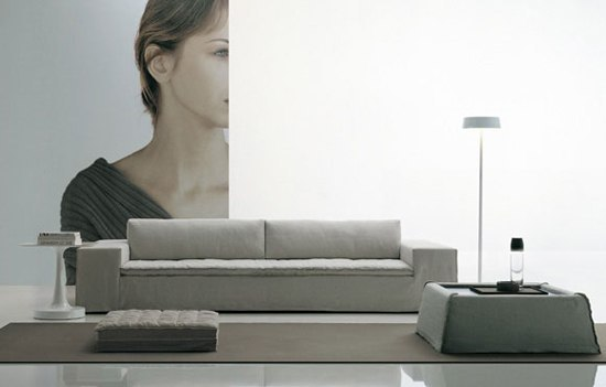 Airport sofa by Poliform