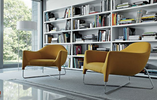 Bali armchair by Poliform