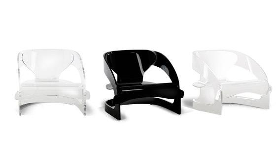 Armchair 4801 by Kartell