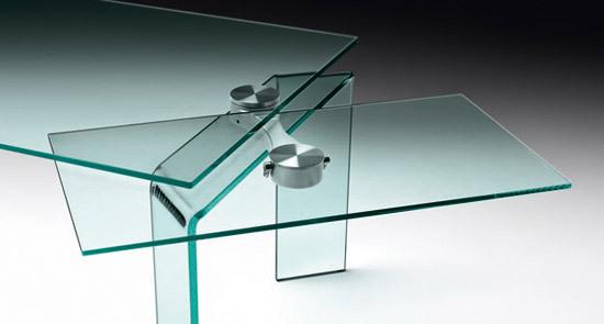 table verre fiam