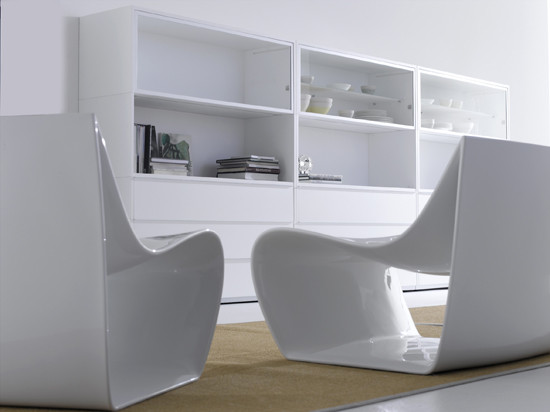 Sign armchair de MDF Italia