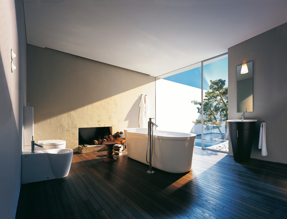AXOR Starck 4-Hole Tile Mounted Bath di AXOR