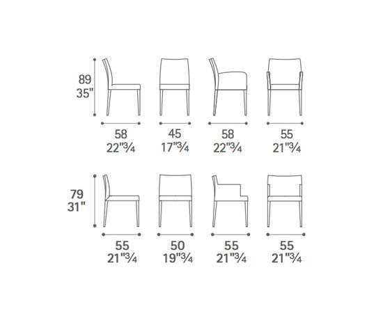 Stühle  Sitzmöbel  Liz B  Poltrona Frau  R&D Poltrona
