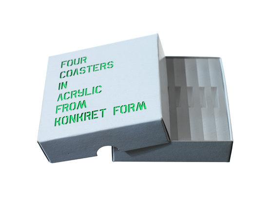 Coasters di Konkret Form