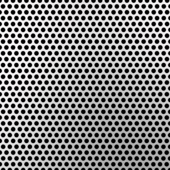 Standard Perfo | 25 aluminium sheet by Fractal