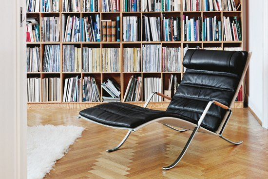 FK 87 Grasshopper chair by Lange Production
