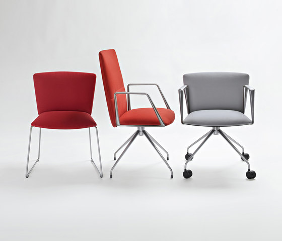 Vela Executive high-backrest chair von Tecno