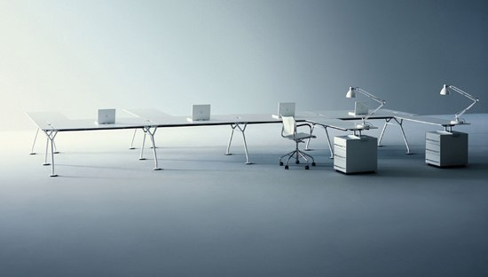 Nomos individual desks from tecno architonic for Tecno arredo ufficio