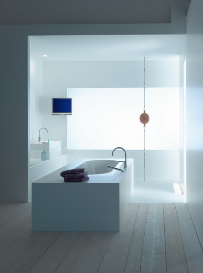 Tara. Logic - Wall-mounted single-lever basin mixer by Dornbracht