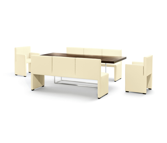 Corso bench by Wittmann