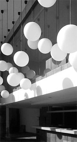 Pendant luminaire 4950/5400/... by Glashütte Limburg