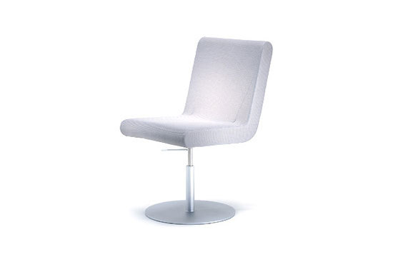 Ordinaire BOOMERANG Round Base Swivel Chair By IXC.