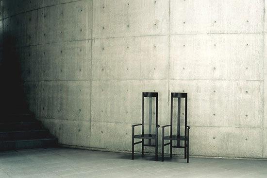tadao ando furniture. achair 511 by ixc tadao ando furniture