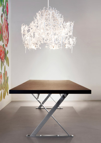 Flower Power chandelier de Brand van Egmond