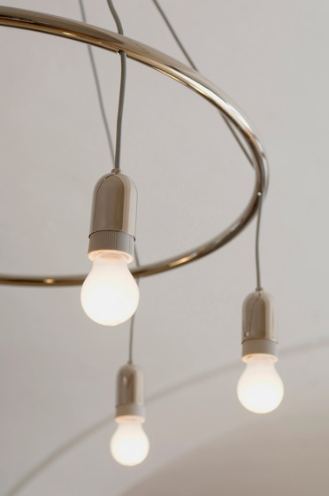 Goldman Hula Hoop chandelier by Woka