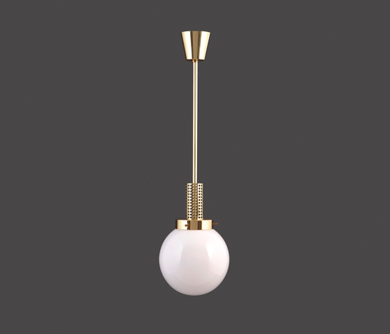 Gitterpende-18 pendant lamp by Woka