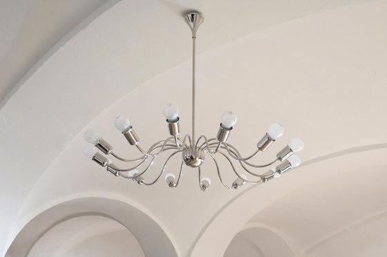 Josefstadt chandelier by Woka