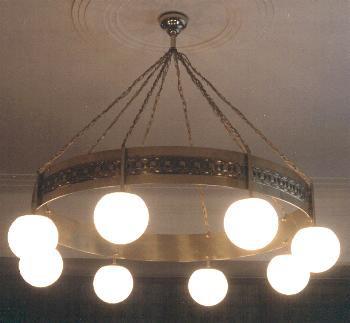 RL1 chandelier by Woka