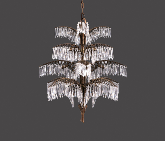 Palme chandelier by Woka
