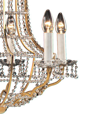 Papageno chandelier by Woka