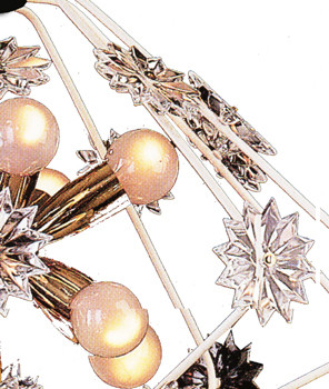 Snowflake chandelier by Woka