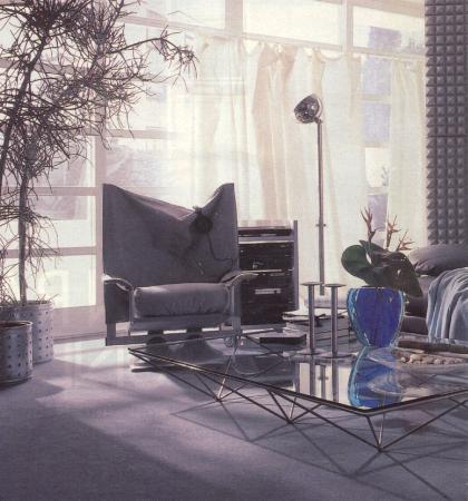 AD4 floor lamp by Woka