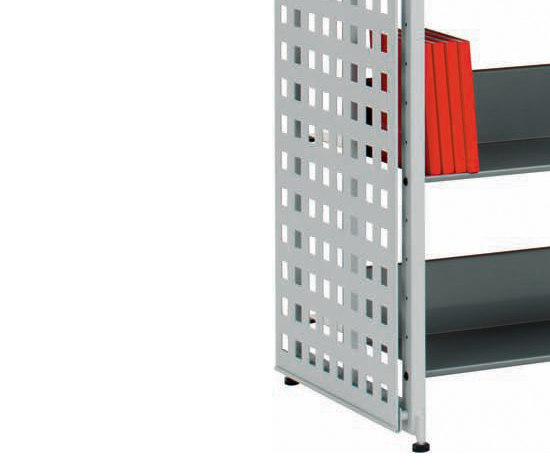 Littbus Perforated Steel / Double sided 542x2044 mm by Lustrum