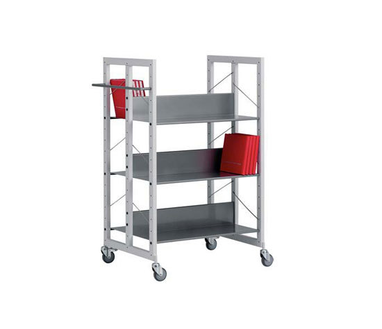 Modules / Book trolley - Mobil 2 de Lustrum
