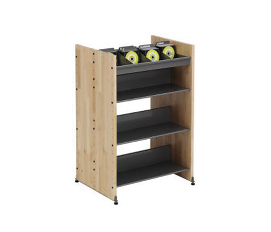 Modules / Book trolley - Mobil 1 by Lustrum